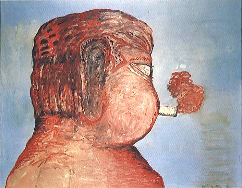 Friend - To M.F. by Philip Guston